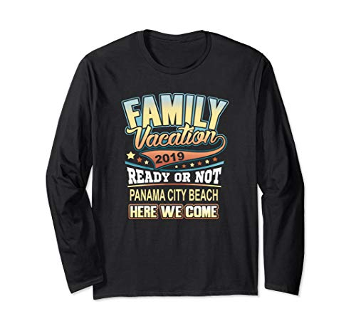 Panama City Beach Family Vacation 2019 Shirt