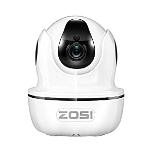 ZOSI 720p HD-TVI Security Camera System,4 in 1 Surveillance DVR 8 Channel,Outdoor/Indoor CCTV Camera Wide Angle