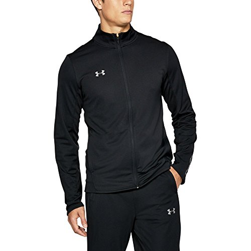Under Armour Men's Challenger Ii Knit Warm-Up Pants, Black/Graphite, Large Polyester Warm Ups