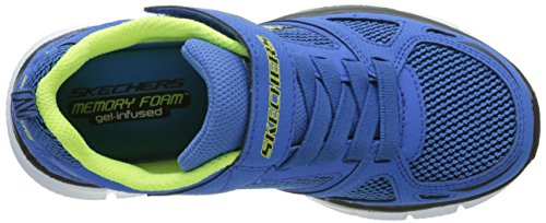 Skechers Equalizer Quick Race Jungen Low-Top Blue (Blue/Black)