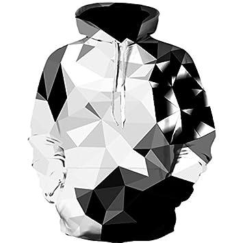 Moda Hip Hop Hoodie Sweatshirt Impresión Hombres Chaqueta con Capucha de impresión 3D con Tapa para Hombres y Mujeres Sudadera Vestidos Sudaderas: ...