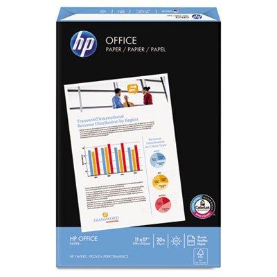 Office Ultra-White Paper, 92 Bright, 20lb, 11 x 17, 500/Ream