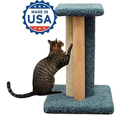 Amazon.com: Cat Scratching Post cuerda sisal 24 inch Madera ...