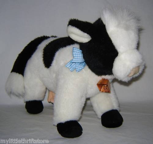 - 1991 Retired TY Plush Classic Cow Clover