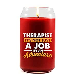 THERAPIST Not Just A Job Gift For THERAPIST - Scented Candle