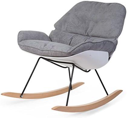 Childhome - Rocking Chaise Lounge Blanc et Gris
