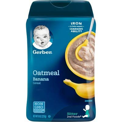 Gerber Baby Probiotic Oatmeal & Banana Cereal (Pack of 4) by Gerber (Image #4)