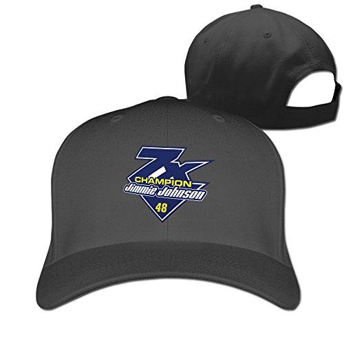 Unisex Jimmie Johnson Fanatics Branded Black 2016 Sprint Cup Champion 7-Time Champion Baseball Cap from Bess Evan