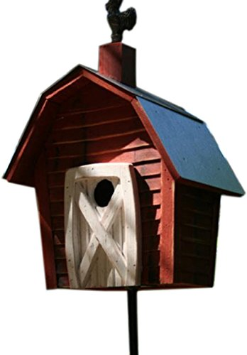 Heartwood 180A Rock City Decorative Bird House (Redwood Cypress Birdhouse)