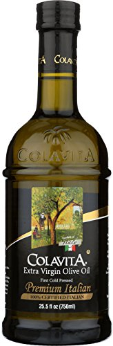 Colavita Premium Italian Extra Virgin Olive Oil, 25.5 fl. oz., Glass Bottle (Difference Between Extra Virgin And Pure Olive Oil)