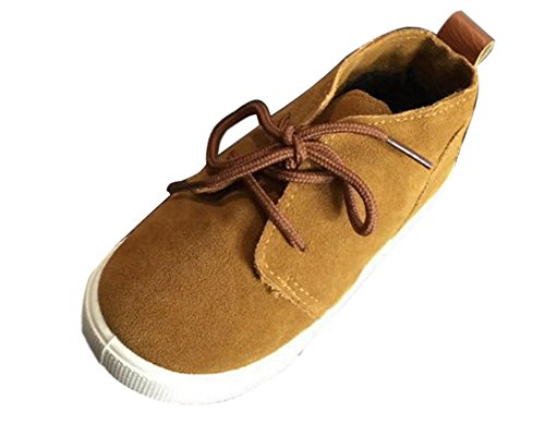 Fashion Comfortable Chaussure Toddler Lovely Boys Suede Children Girls Casual Soft Maybest Khaki Shoes Baby Shoes Zw0qxZFOd