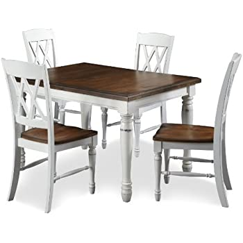 dining table legs metal chairs set of 4 this item home styles monarch rectangular four double back chair