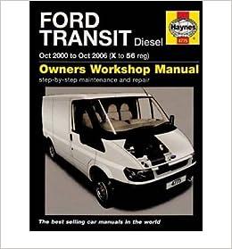 ford transit 2006 service manual