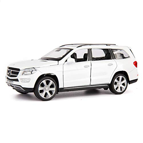 SXET-Model car Model Car Alloy Model Car Collection Model 1:32 Mercedes-Benz GL450 Off-Road Vehicle SUV Model Toy Car (Color : White)
