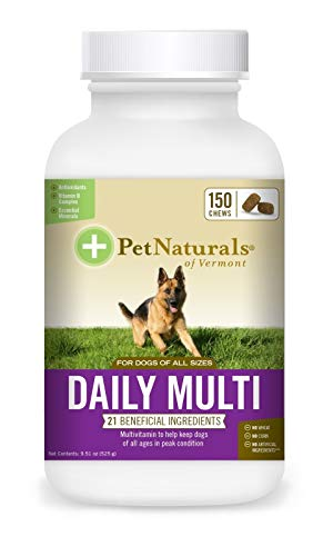 (Pet Naturals Daily Multi for Dogs (150 Chews))