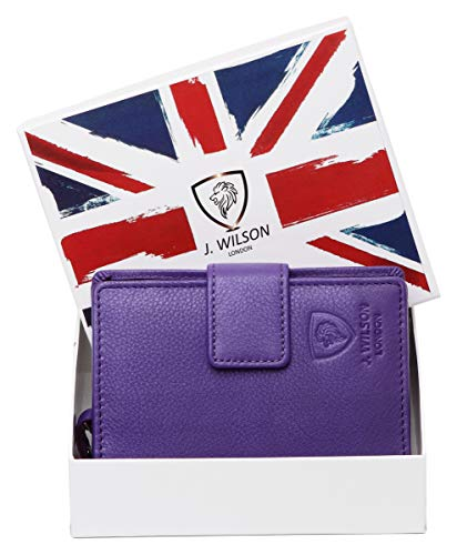 London Purple J Medium Blue Blu Wilson Portafogli nHaBvqwP8