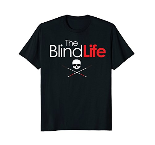 The Blind Life T-Shirt - YouTube Channel Name & Logo - Front ()