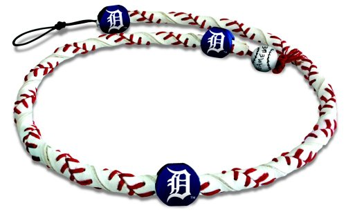 MLB Detroit Tigers Classic Frozen Rope Baseball - Frozen Necklace Rope Mlb