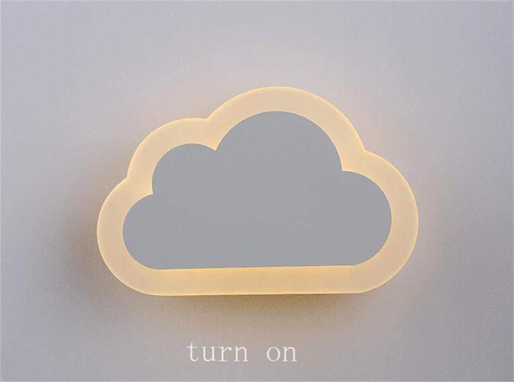 FXING LED-Wand Acryl Wand Lampe Nachttischlampe modernen minimalistischen Schlafzimmer kreative Wolken Flur Treppe Wandleuchte