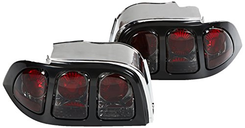Spec-D Tuning LT-MST94G-APC Ford Mustang Altezza Tail Lights Smoked V6 Gt - Tail Lights Mustang Smoked