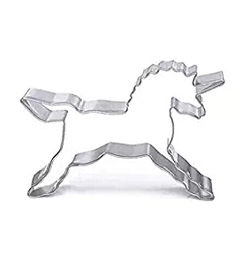 Price comparison product image GUAngqi Cookies Cake Mold Biscuit Stainless Steel Unicorn Horse Pastry Cutter Baking