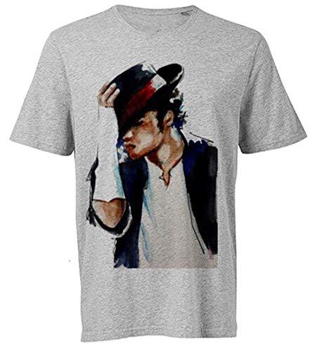 popularshop Women's Girls King of Pop Michael Jackson T-Shirt M190 Tribute T-Shirt