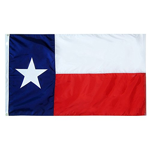 3 x 5 Texas State Flag – Nylon – 100% American Made For Sale