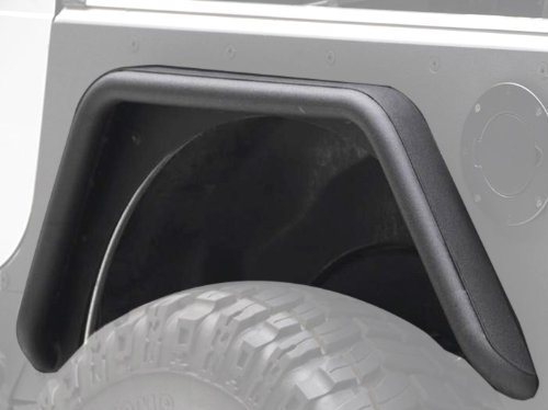 Smittybilt 76878 XRC Textured Black Rear Corner Guards, (Cj7 Corner)