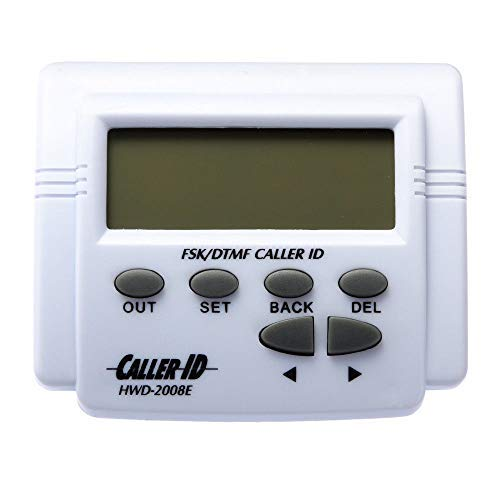 Runshuangyu Smart Telephone Phone Tele LCD Display Screen DTMF FSK Caller ID Box with Call Number