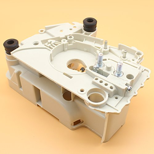 Crankcase Crank Case Engine Housing W/ Chain Tensioner Adjuster For STIHL MS170 MS180 MS 170 180 017 018 Chainsaw Engine Parts (Engine Housing)
