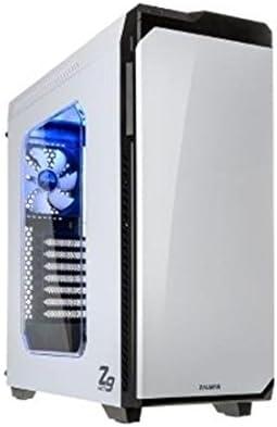 Zalman Z9 Neo White Midi-Tower Blanco - Caja de Ordenador (Midi-Tower, PC, Blanco, ATX,Micro ATX, Azul, Superior ...
