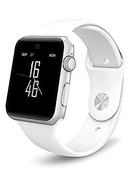 Best Buy inoxidable 128 M + 64 M Pantalla táctil Smartwatch Soporte SIM/tarjeta SD pedemeter Anti-lost Monitor de descanso A1