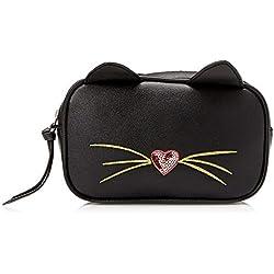 Bolsa para cinturón de gato para camisetas y jeans, Negro, Talla unica