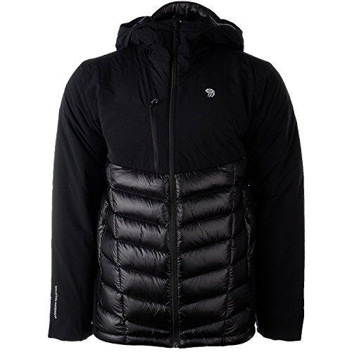 Mountain Hardwear Supercharger Hooded Insulated Jacket - Men's (Medium, Black) - Mountain Hardwear Nylon Sweater