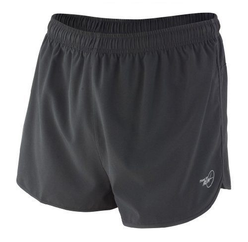 Time to Run Men's Pace Running Short Medium Black/Black