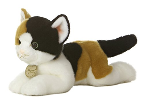 (Aurora World Miyoni Calico Cat Plush, 11