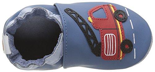 Robeez London Street - Zapatillas de casa Bebé-Niños Azul - Blau (53)