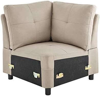 DAZONE Corner Sectional Sofa Chair