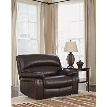 Damacio Dark Brown Zero Wall Wide Seat Recliner  sc 1 st  Amazon.com & Amazon.com: Damacio Dark Brown Zero Wall Power Wide Recliner ... islam-shia.org