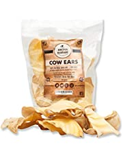 Cow Ears for Dogs, All Natural Whole Ears, No Added Hormone's , Grass Fed Cattle