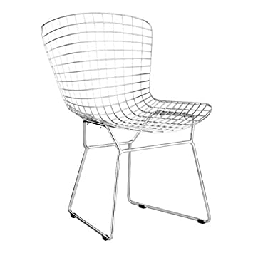 Prime Zuo Modern Wire Dining Chair Chrome Creativecarmelina Interior Chair Design Creativecarmelinacom