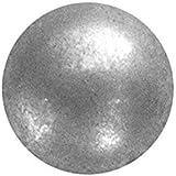 """100 QTY: C.S.Osborne & Co. No. 6987-ZPM 5/8 - Zinc Plated Matt Pewter - Low Domed / post : 5/8"""" head: 3/4"""" (mpn# 13808)"""
