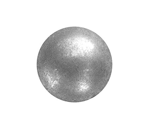 1000 QTY: C.S.Osborne & Co. No. 6986-ZPM 5/8 - Zinc Plated Matt Pewter - Low Domed / post : 5/8'' head: 5/8'' (mpn# 13806) by C. S. Osborne & Co.