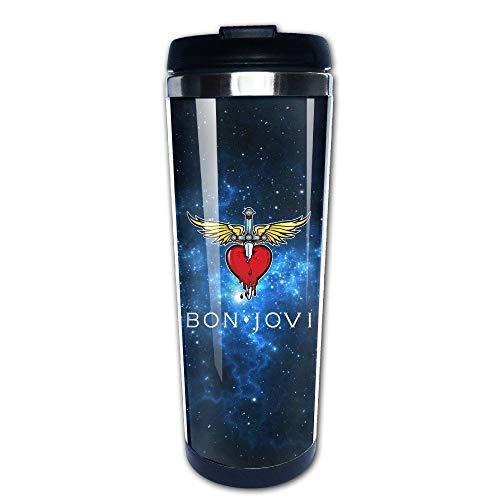 Bon Jovi Classic Logo Coffe Mugs/Travel Mugs/Vacuum Cup ()