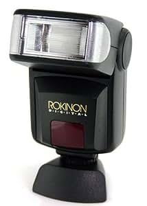 Rokinon D870AF-PK D870AF Digital TTL Flash for Pentax (Black)