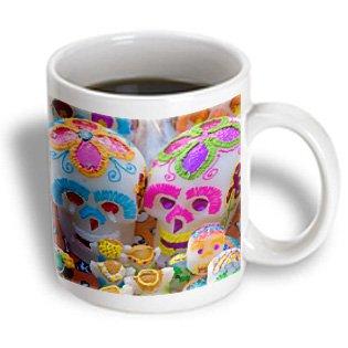 Danita Delimont - Food - Oaxaca, Mexico. Day of the Dead Celebrations. Candy Sugar Skulls. - 11oz Mug (mug_207524_1)