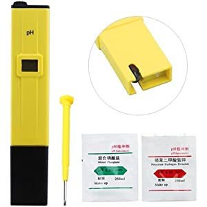 Medidor Digital PH Acuario piscina tester 0.0 - 14.0 pH