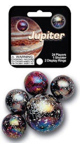 (Mega Marbles - JUPITER MARBLES NET (1 Shooter Marble & 24 Player Marbles))