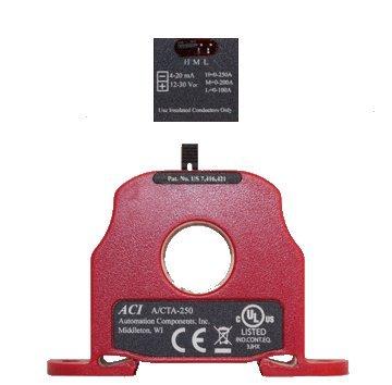 ACI A/CTA-250 : Current Transducer 4-20mA Output