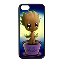 Groot Baby Custom Phone Cases Design for iphone 5/5S Case with Black Laser Technology